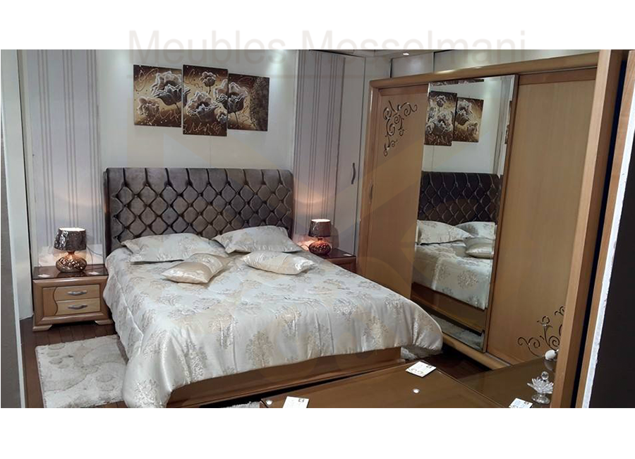 Chambre coucher flora meubles k libia messelmani for Salle a manger kelibia