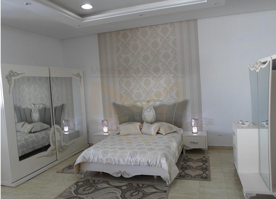 Chambre coucher soltana collection 2017 meubles for Meuble kelibia