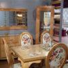 Salle-à-manger-meubles-kélibia-messelmani-ovale-fleurie