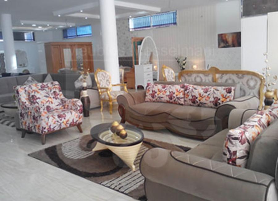 Salon neuf meubles k libia messelmani - Salon baroque ...