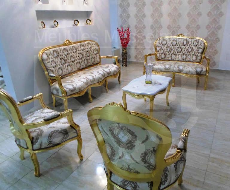 Salon louis 16 meubles k libia messelmani for Salon kelibia 2017