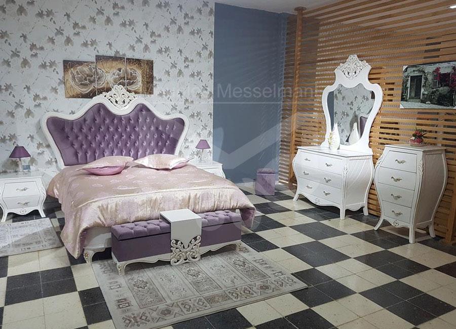 Chambre coucher royale meubles k libia messelmani - Meuble chambre a coucher ...