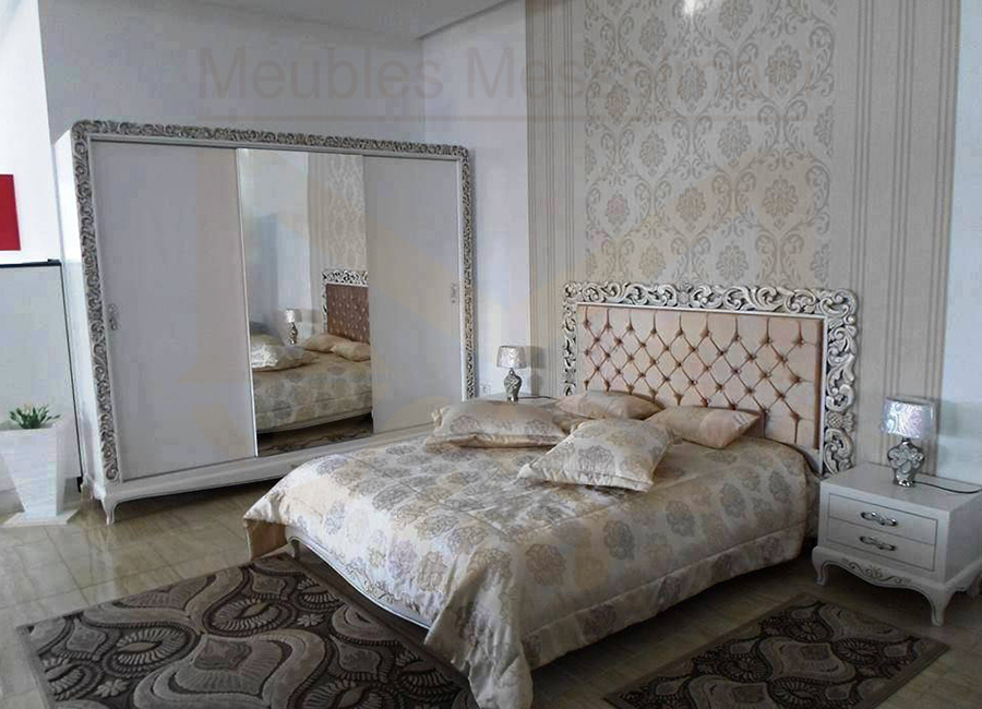 Chambre coucher prestige meubles k libia messelmani for Chambre a coucher meuble