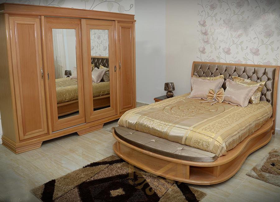 Meubles En Bois Chambre à Coucher : Chambre à coucher versage meubles kélibia messelmani