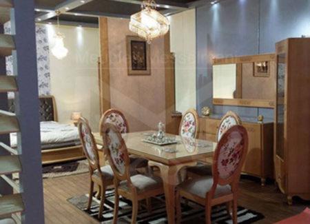 Salle manger meubles k libia messelmani for Salle a manger ovale