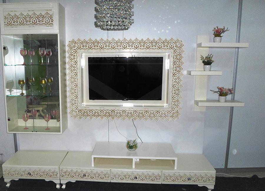 Living baya blanc meubles k libia messelmani for Salon kelibia 2017