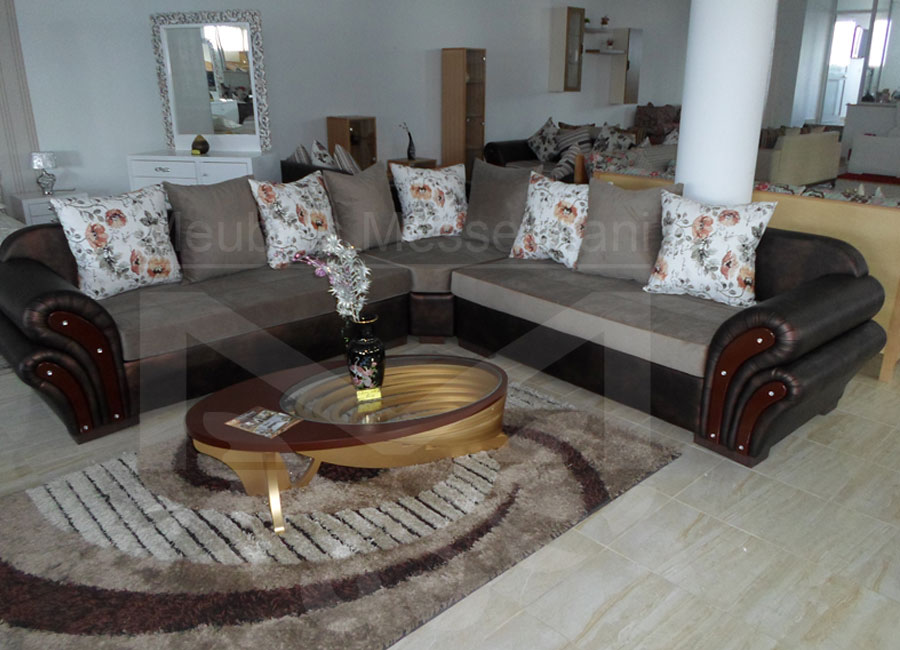 Salon lina meubles k libia messelmani for Meuble kelibia salon