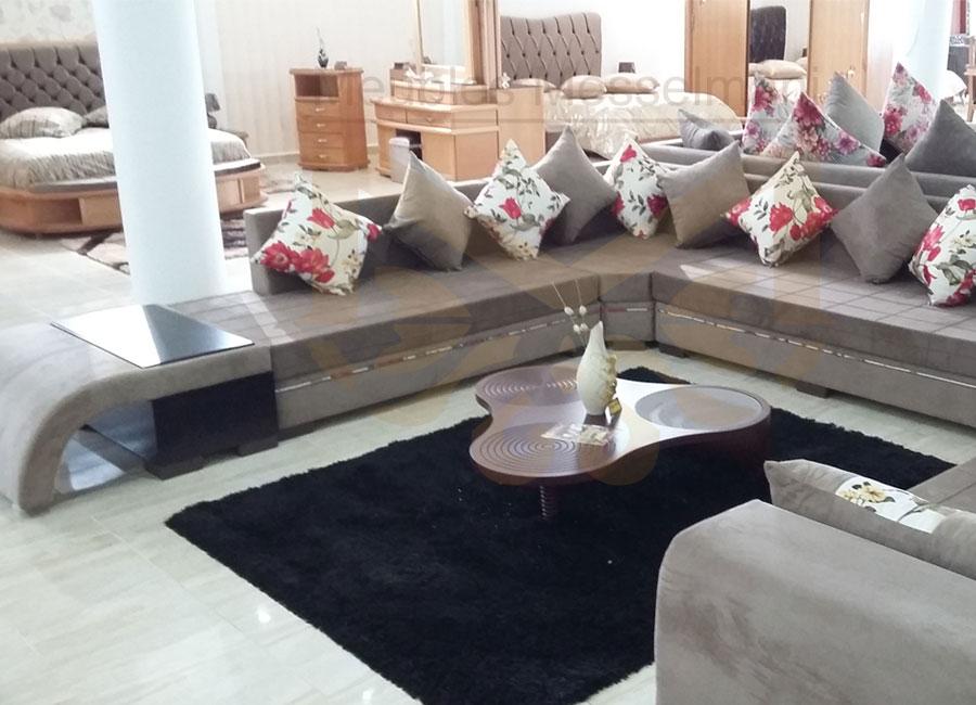 Salon atef meubles k libia messelmani Meuble kelibia salon