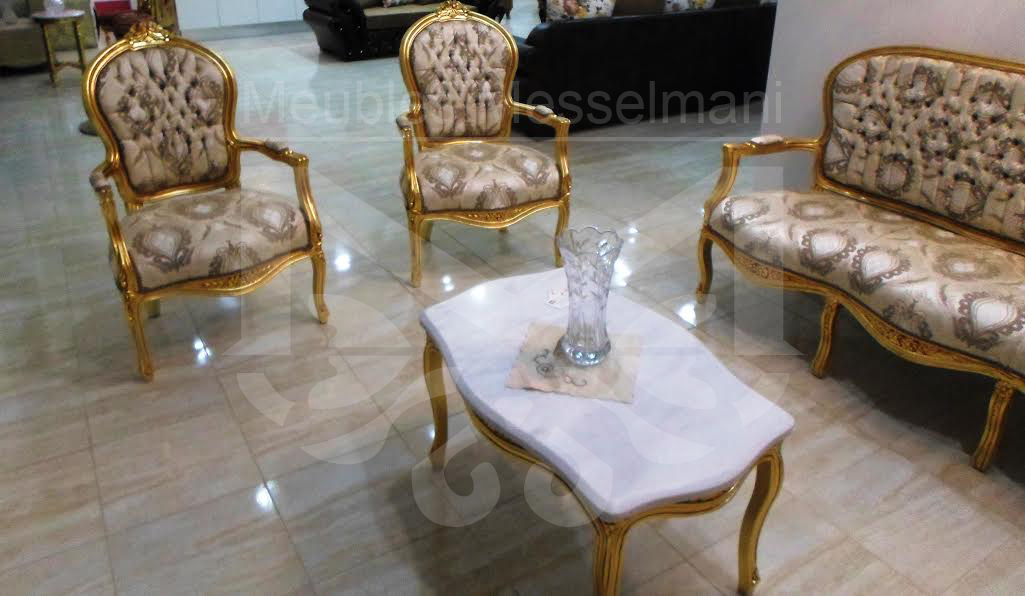 salon louis 16 meubles k libia messelmani. Black Bedroom Furniture Sets. Home Design Ideas