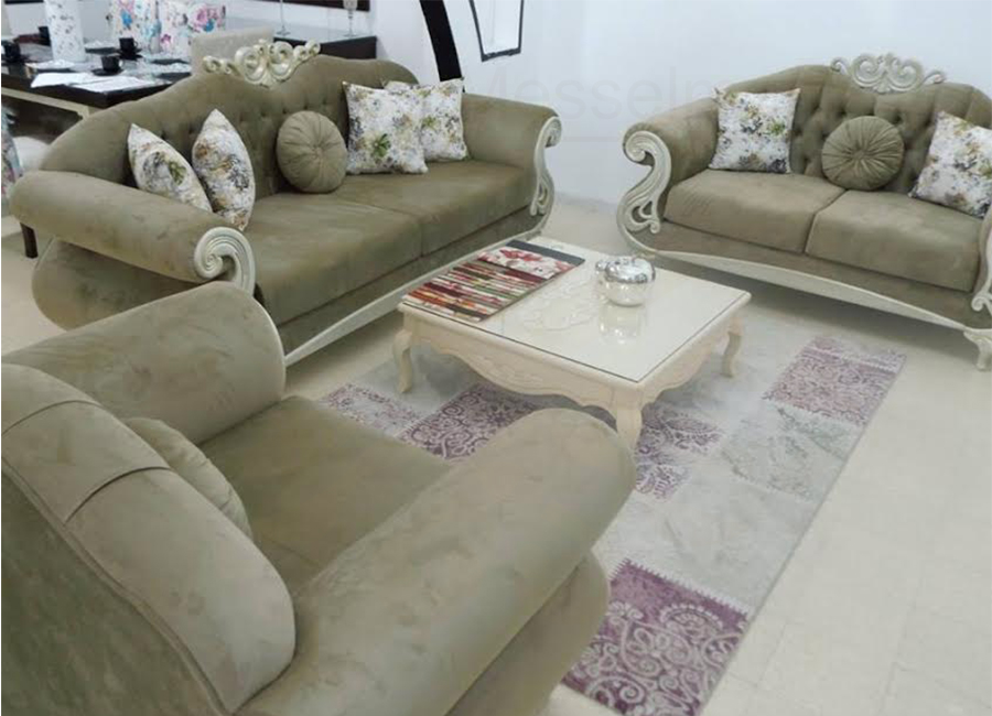 Salon sandra meubles k libia messelmani for Salon kelibia 2017
