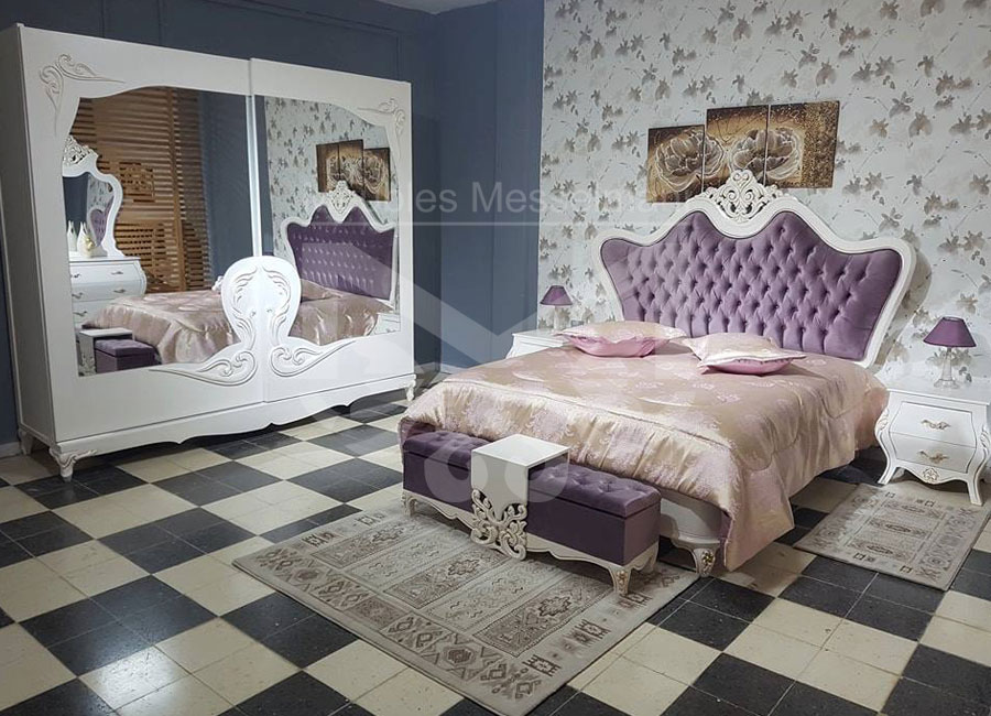 Chambre A Coucher Style Baroque. Elegant Album Photo Ambiance ...