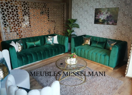 Salon Gold meuble messelmani kélibia